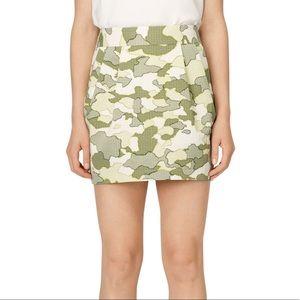 Club Monaco Camo Skirt